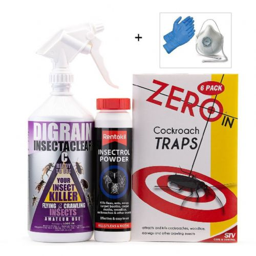 Cockroach Kill and Control Treatment Kit 1